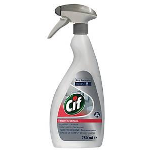Sanitetsrengöring Cif Professional, rengöringsspray för badrum, 750ml