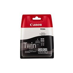 Canon PGI-525PGBK Inkjet Cartridge Twin pack Black
