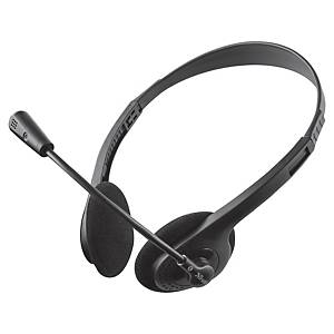 Headset Trust Primo, wireless, schwarz