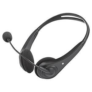 Headset Trust Insonic,für PC/Laptop, schwarz