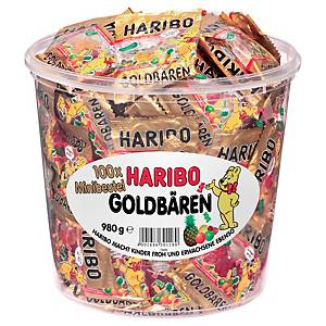 Goldbären Haribo, 100 Portionstütchen a 10g