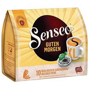 Kaffeepads Senseo Guten Morgen, 10 Becher-Pads (doppelte Menge)