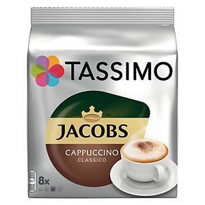 T-Discs Tassimo, Cappuccino, 8 x 2 Stück