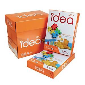 IDEA MAX กระดาษถ่ายเอกสาร A4 70 แกรม สีขาว 1 รีม 500แผ่น