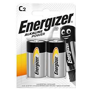 Energizer Alkaline Power Batterien, C/LR14, Alkaline, Packung mit 2 Stück