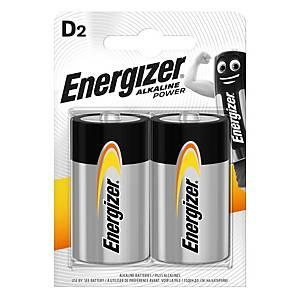Batérie Energizer, LR20/D, 2 kusy v balení