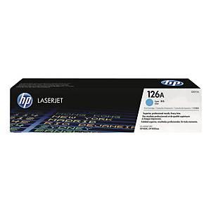 HP CE311A LaserJet Toner Cartridge (126A) - Cyan