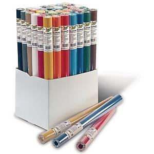 Carton ondulé 50 x 70 cm couleurs assorties - le paquet de 10