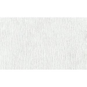 Papier crepon 50 cm x 2,5 m blanc - le paquet de 10