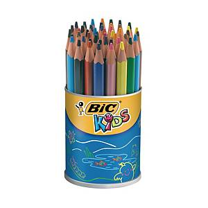 Bic Kids Evolution Triangle crayons couleur assorti - le pot de 48