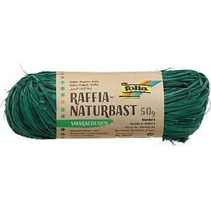 Raphia 50 gr vert