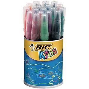 Bic Kids Visaquarelle feutres couleur assorti - le pot de 18