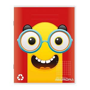 Aurora cahier brouillon A5 quadrillé 5 mm 50 pages