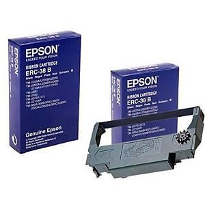 EPSON C43S015374 RIBBON ERC38B BLK