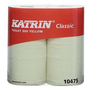 Katrin Classic wc-paperi, 1 pakkaus=10x4 rullaa