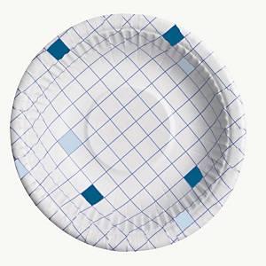 Huhtamäki kartonkilautanen syvä 20cm ruutu, 1 kpl=50 lautasta