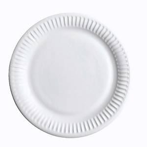Huhtamäki kartonkilautanen matala 23cm, 1 kpl=50 lautasta