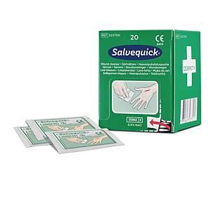 Salvequick 3237 haavapyyhe täydennyspakkaus, 1 kpl=20 haavapyyhettä