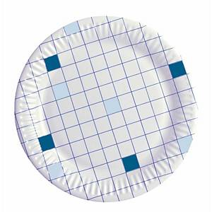 Huhtamäki kartonkilautanen 18cm ruutu, 1 kpl=100 lautasta