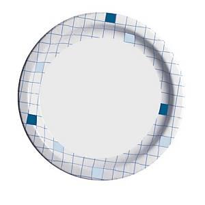 Huhtamäki kartonkilautanen 23cm ruutu, 1 kpl=50 lautasta