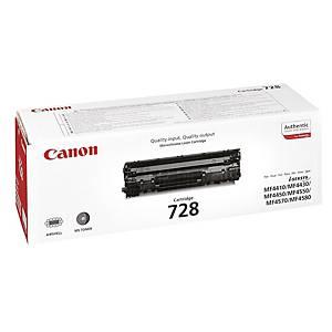 Toner Canon 728, 2100 Seiten, schwarz