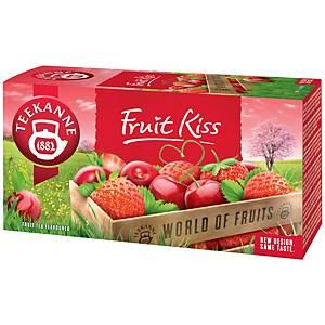 Čaj Teekanne Fruit kiss, 20 vrecúšok à 2,5 g