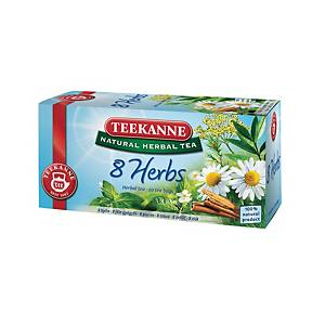 PK20 TEEKANNE HERB TEA BAGS MIX