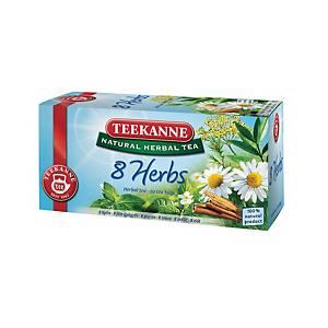 Čaj Teekanne Bylinkový mix, 20 vrecúšok à 2,5 g