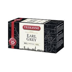 Porcovaný čaj Teekanne Earl Grey, 20 sáčků