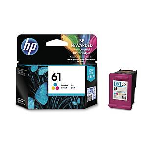 HP N°61 CH562 INKJET CARTRIDGE 3 COLOUR