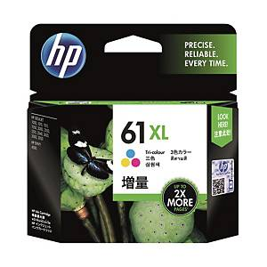 HP CH564 61XL Inkjet Cartridge -  Tri-color