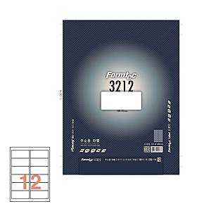 폼텍 주소용라벨 LS-3212 100x45mm 100매