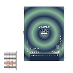 폼텍 분류용 라벨 LS-3623 46x11MM 100매