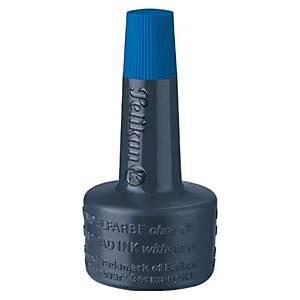 PELIKAN, 351213, encre à tampon sans huile, Flacon de 28ml, bleu