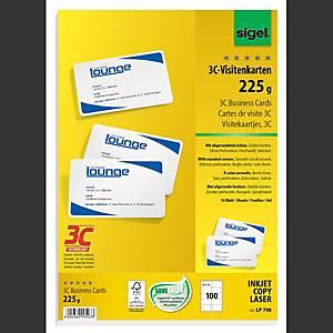 /PA100 SIGEL LP798 CARTE DE VISIT 3C-TEC
