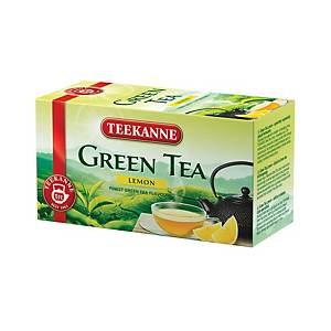 Teekanne Grüner Tee mit Zitorne, 20 Beutel à 1,75 g