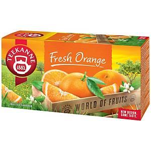 Teekanne porcovaný čaj pomeranč, 20 sáčků