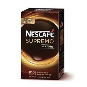 네스카페 수프리모 무설탕 아메리카노 1.1g X 100스틱