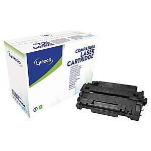 Toner laser Lyreco compatível com HP 55A - CE255A - preto