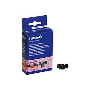PELIKAN Farbrolle schwarz/rot Gr.745 zu Epson IR 40 T, Packung à 2 Stück
