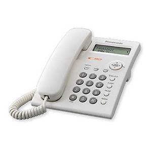 PANASONIC KX-TSC11MX PHONE WHITE 16 DIGITS