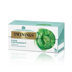 TWININGS 川寧 薄荷花草茶茶包(信封裝) - 25包裝