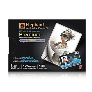 ELEPHANT LAMINATING POUCH 60X90MM 125 MI - PACK OF 100