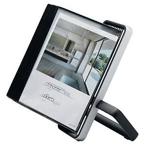 Tarifold Veo 744107 displaysysteem met statief, 10 panelen, PP, zwart