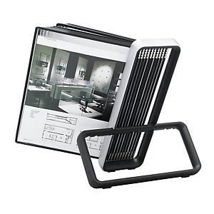 Tischsichttafelsystem Tarifold VEO 6744107, A4,inkl. 10 Sichttaschen, schwarz