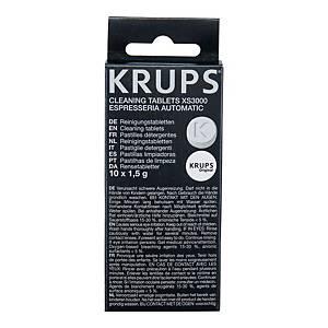 Tabletki czyszczące KRUPS XS3000, 10 sztuk