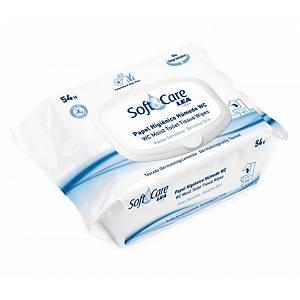 Embalagem de 40 toalhetes húmidos para WC - extrato de camomila