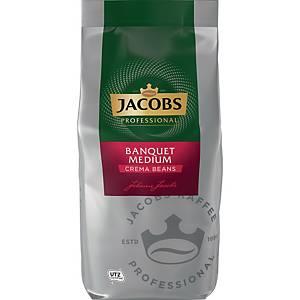 Kaffee Jacobs Bankett Caffè Crema, ganze Bohne, 1000g
