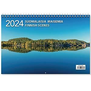 CC 5601 Suomalaisia maisemia seinäkalenteri 2021 300 x 400mm