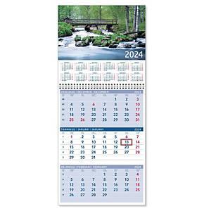 CC 5111 Triplanner pieni seinäkalenteri 2021 232 x 325 mm